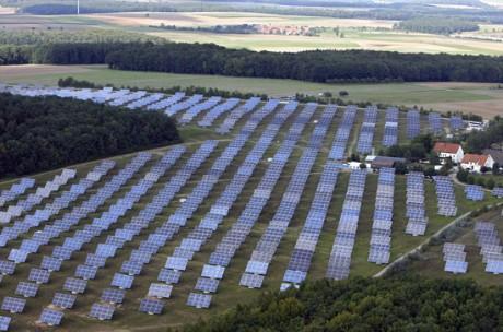 energia solar producida planta: